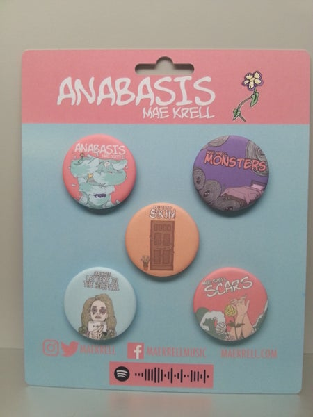 Image of Anabasis button set