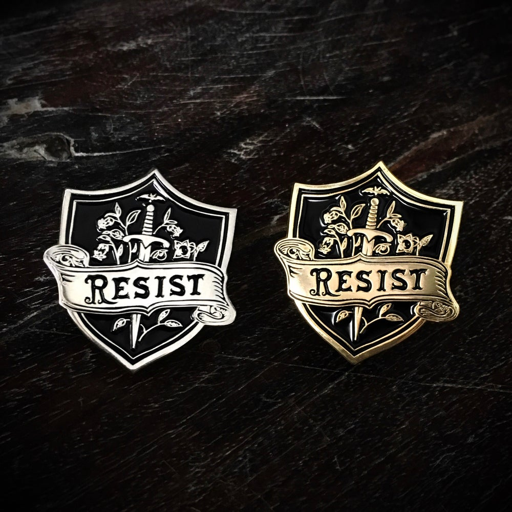 Image of Resistance Insignia pin
