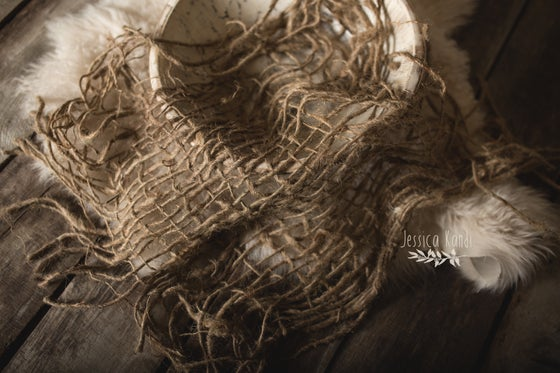 Image of Chunky burlap texture layer (pre-order)