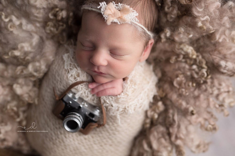 Image of NEWBORN CAMERA PROP
