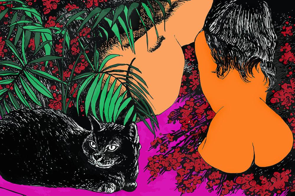 """Image of """"Cat Ladies"""" Print"""