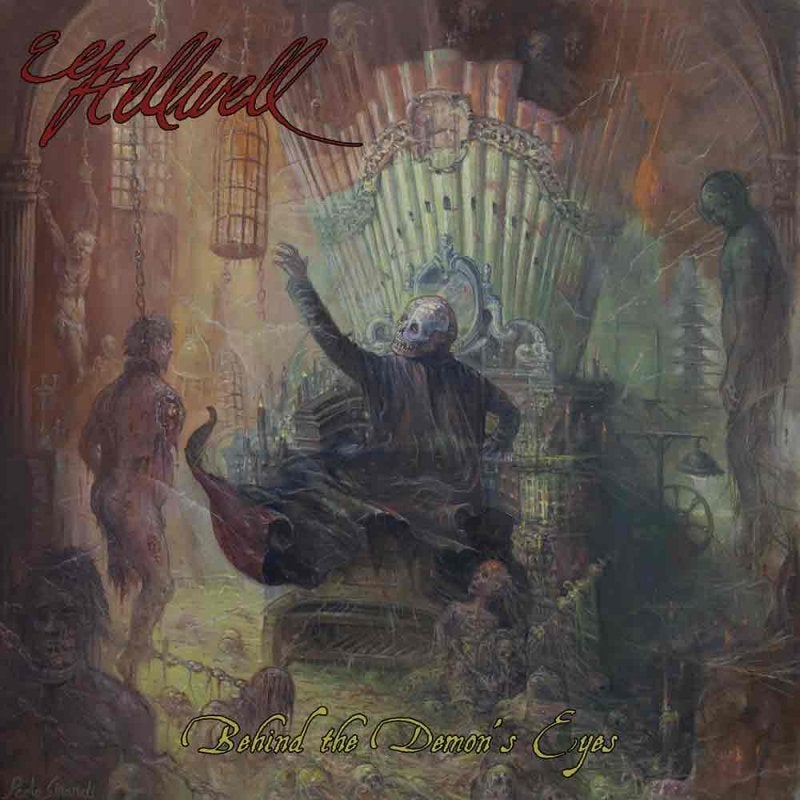 Image of Hellwell - Behind the Demon's Eyes – CD