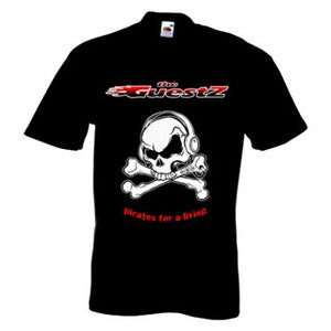Image of Pirates for a living t-shirt