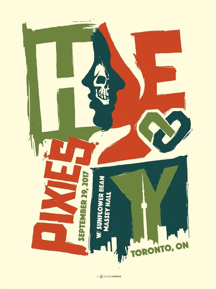 Image of Pixies Toronto Poster