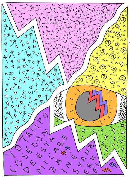 Image of Fanzine 'Yo tampoco sé dónde está mi cabeza' de Inés v. B.