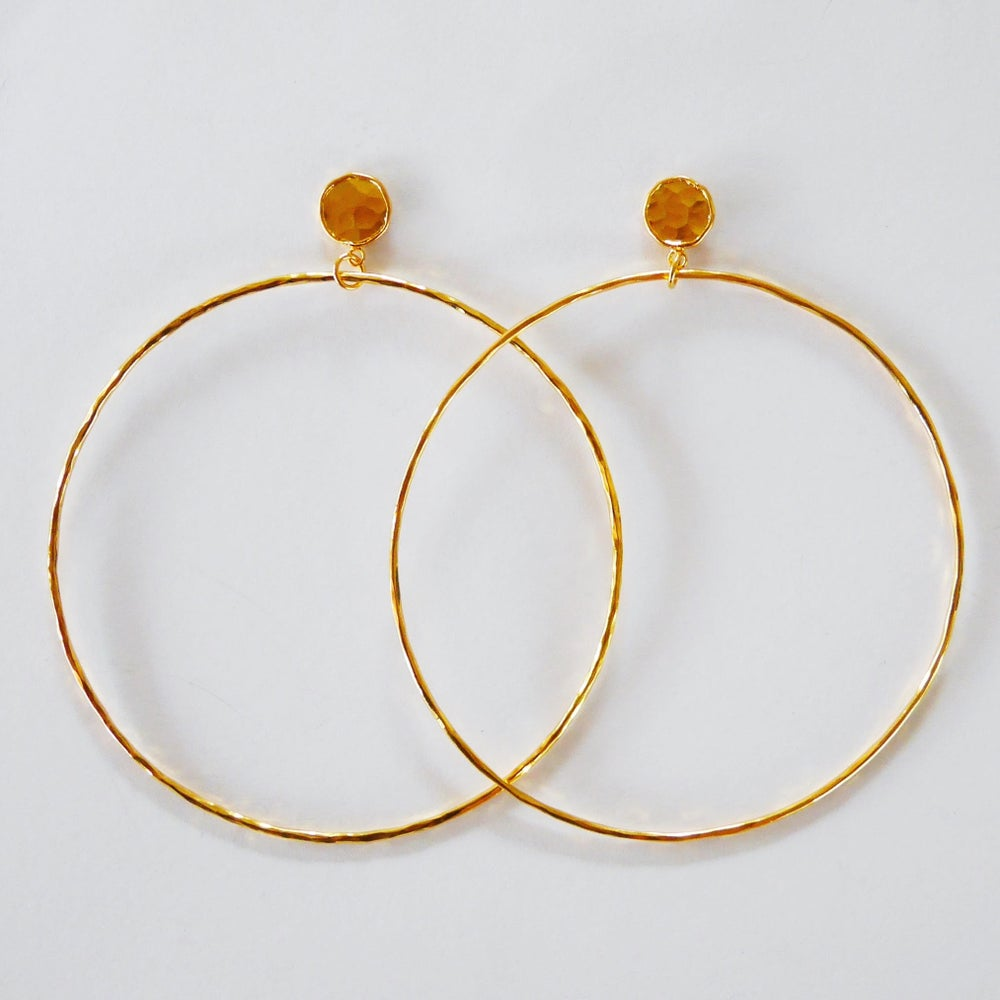 Image of Dorado Earrings (silver or gold or rose gold)