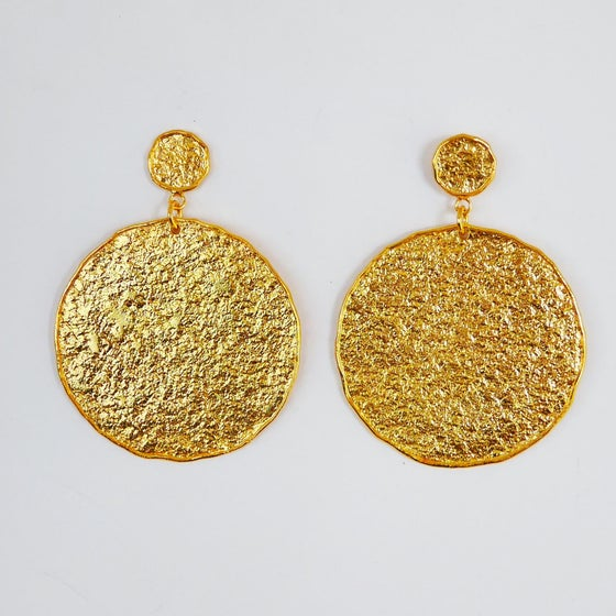 Image of Goldrush Earrings (silver or gold)