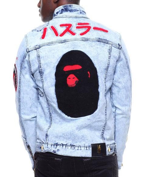 Image of Ape & Shark Denim Jacket