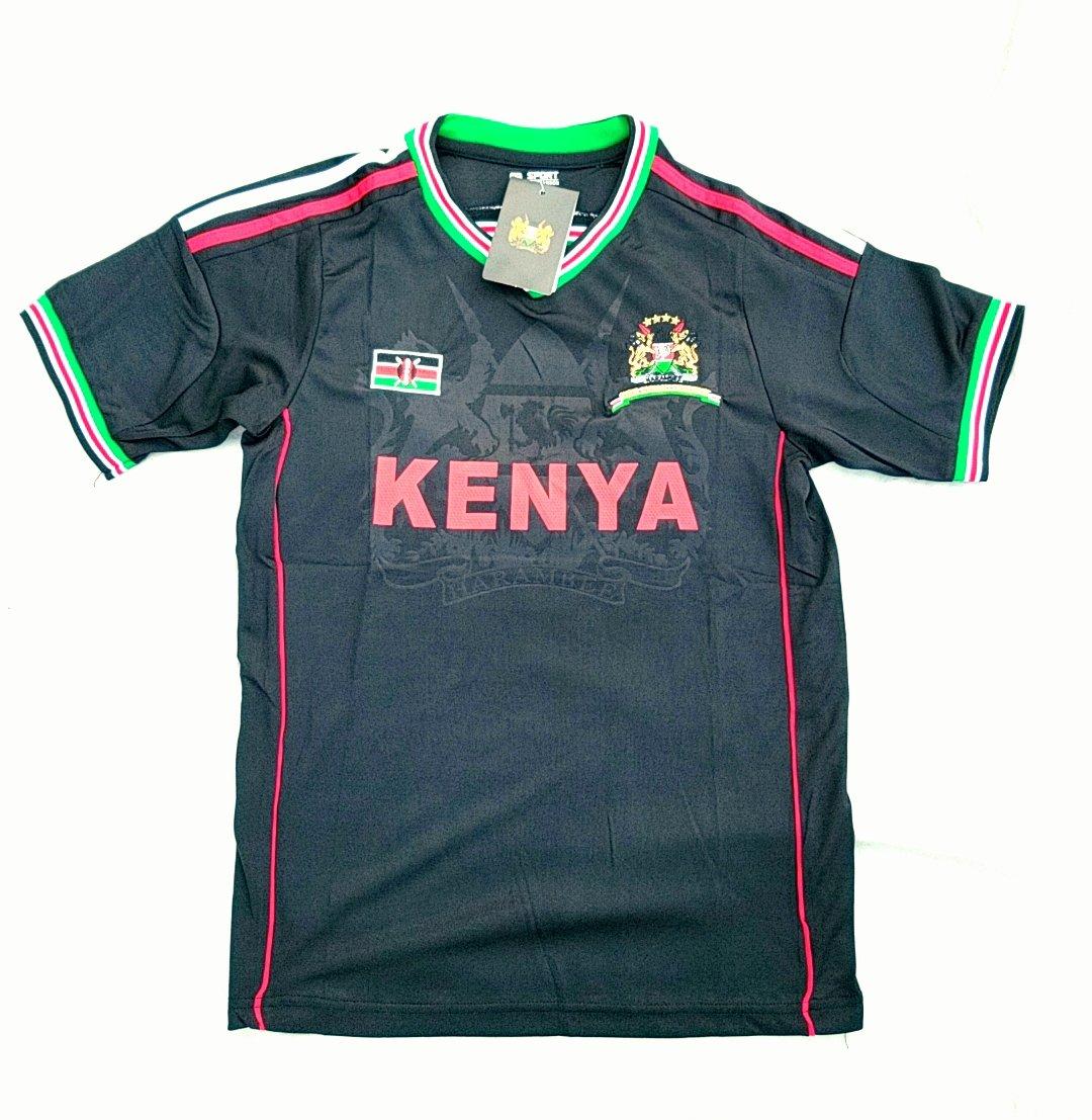 Image of Black Kenyan jersey