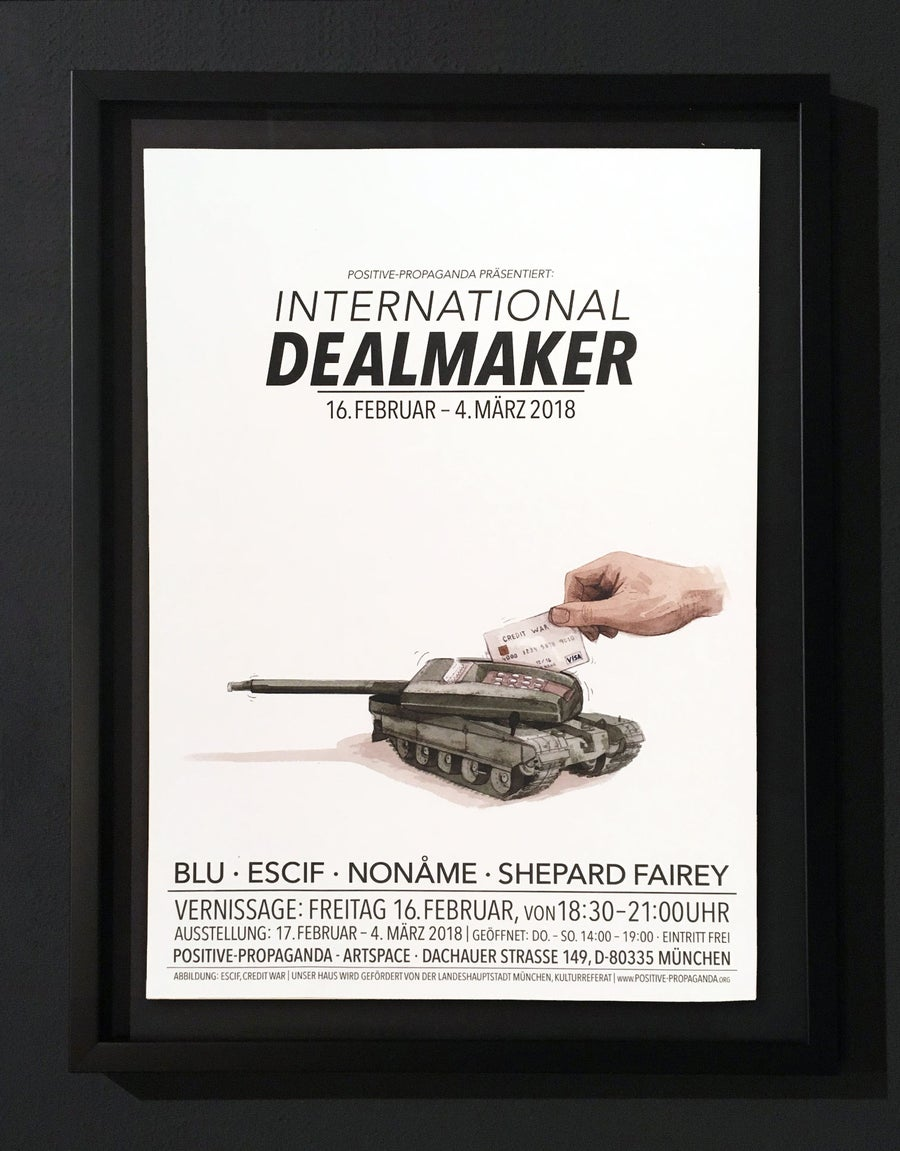 Image of INTERNATIONAL DEALMAKER - POSTER