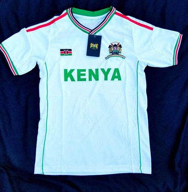 Image of White Kenyan jersey