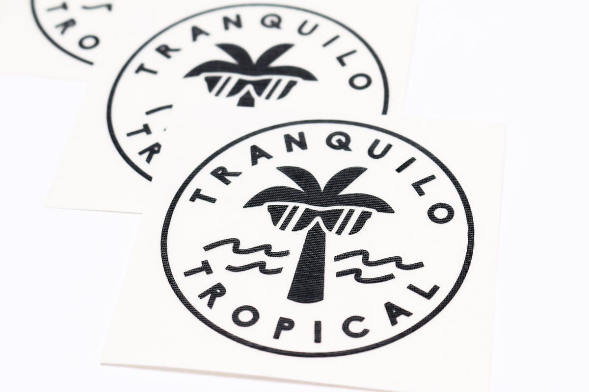 Image of Special Edition: Tranquilo & Tropical Sunglasses Black Decal