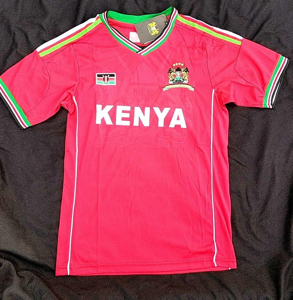 Image of Red Kenyan jersey