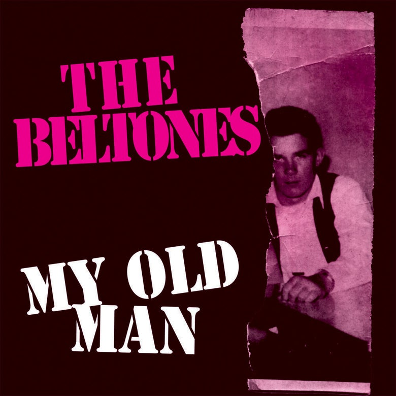 "Image of THE BELTONES ""My Old Man"" 7"" maxi single (JAW016) purple vinyl (ltd. 300)"
