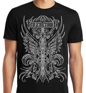 Image of Crest T-SHIRT Black