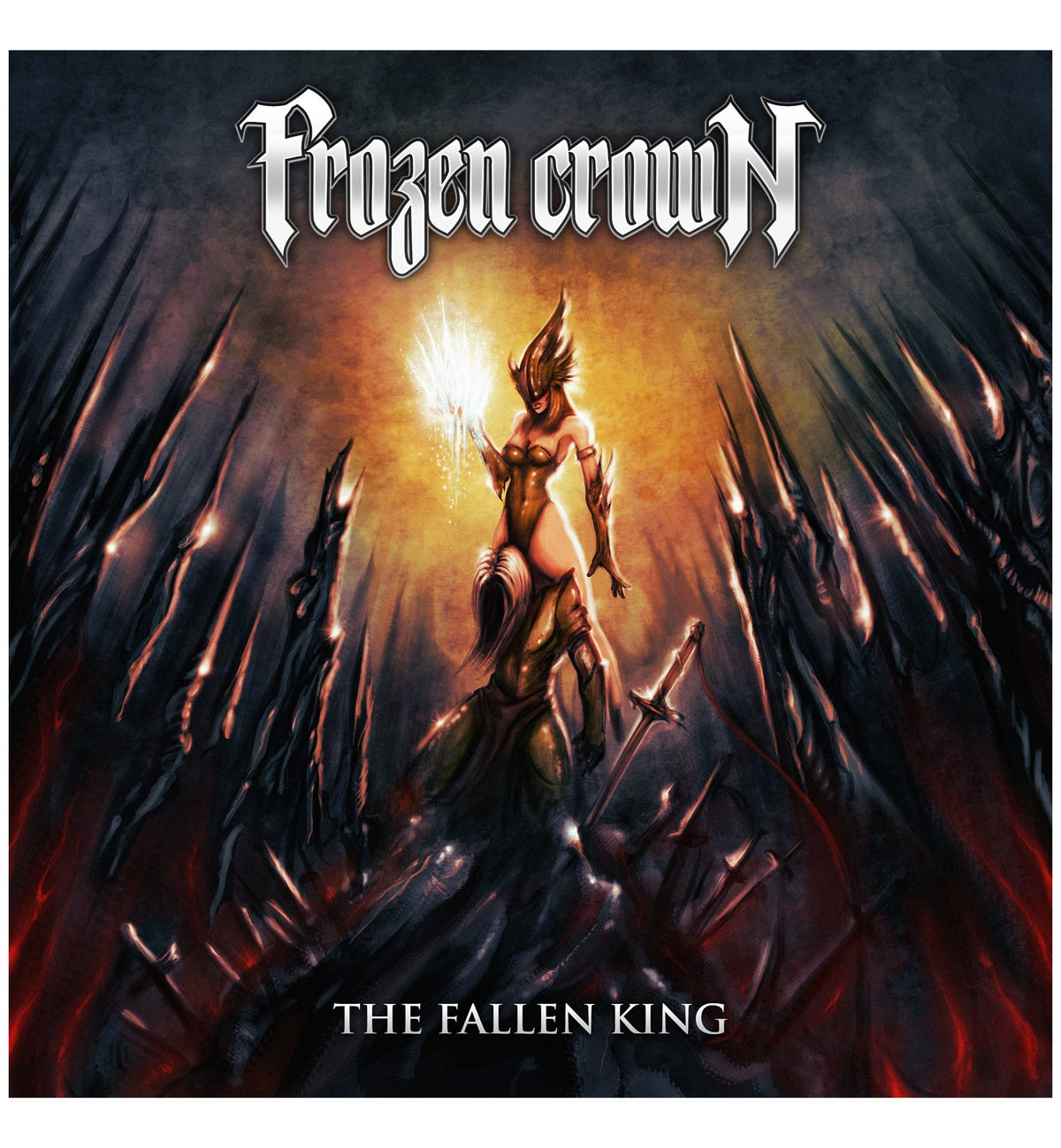 "Image of ""The Fallen King"" CD DIGIPACK"
