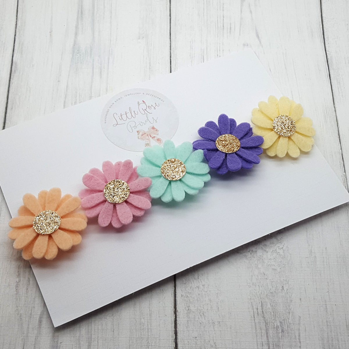Image of Pastel 5 Daisy Chain Headband