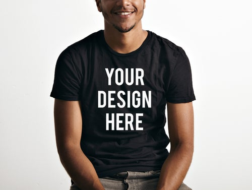 Image of Custom Design on Dark T Shirts