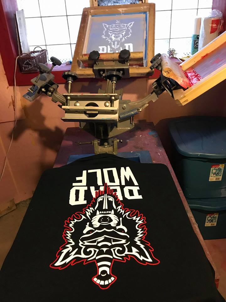 Image of Dead Wolf T-Shirt