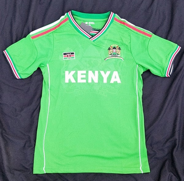 Image of Green Kenyan jersey
