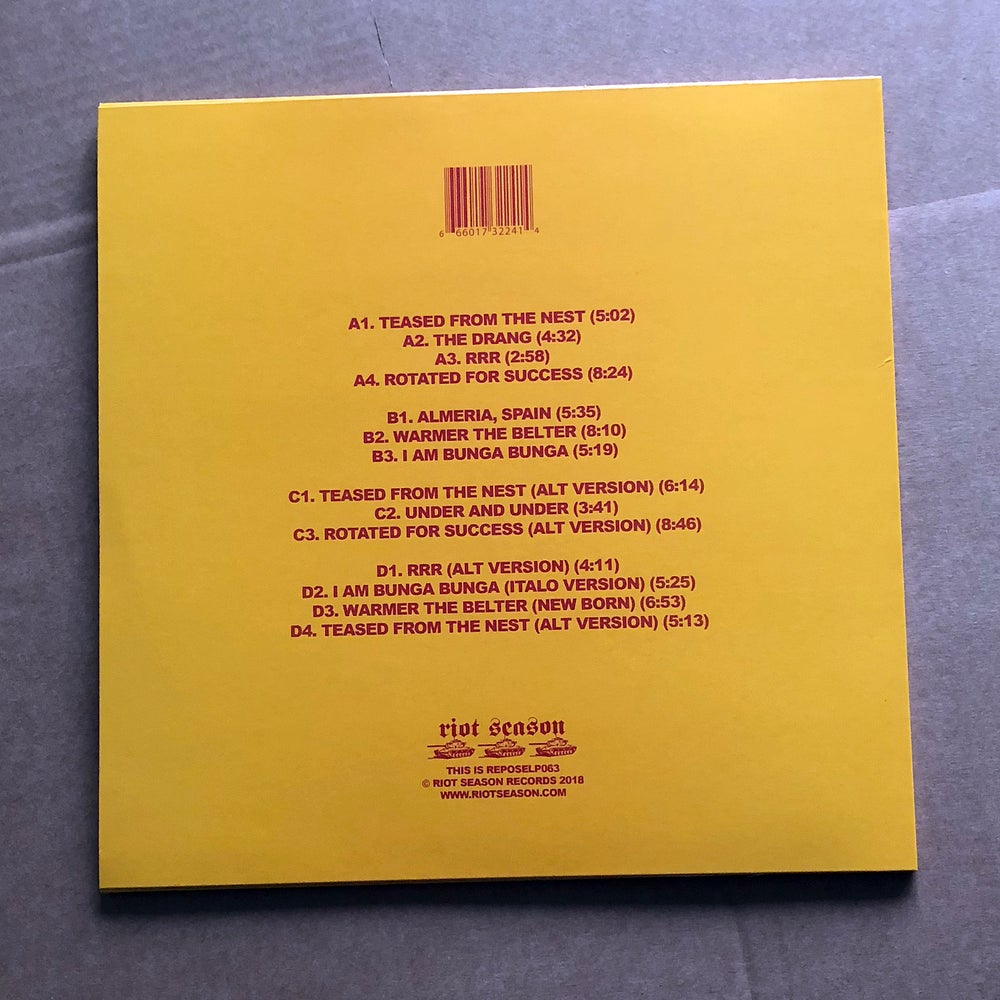 HEY COLOSSUS 'RRR' Vinyl 2xLP (2018 Expanded Edition)