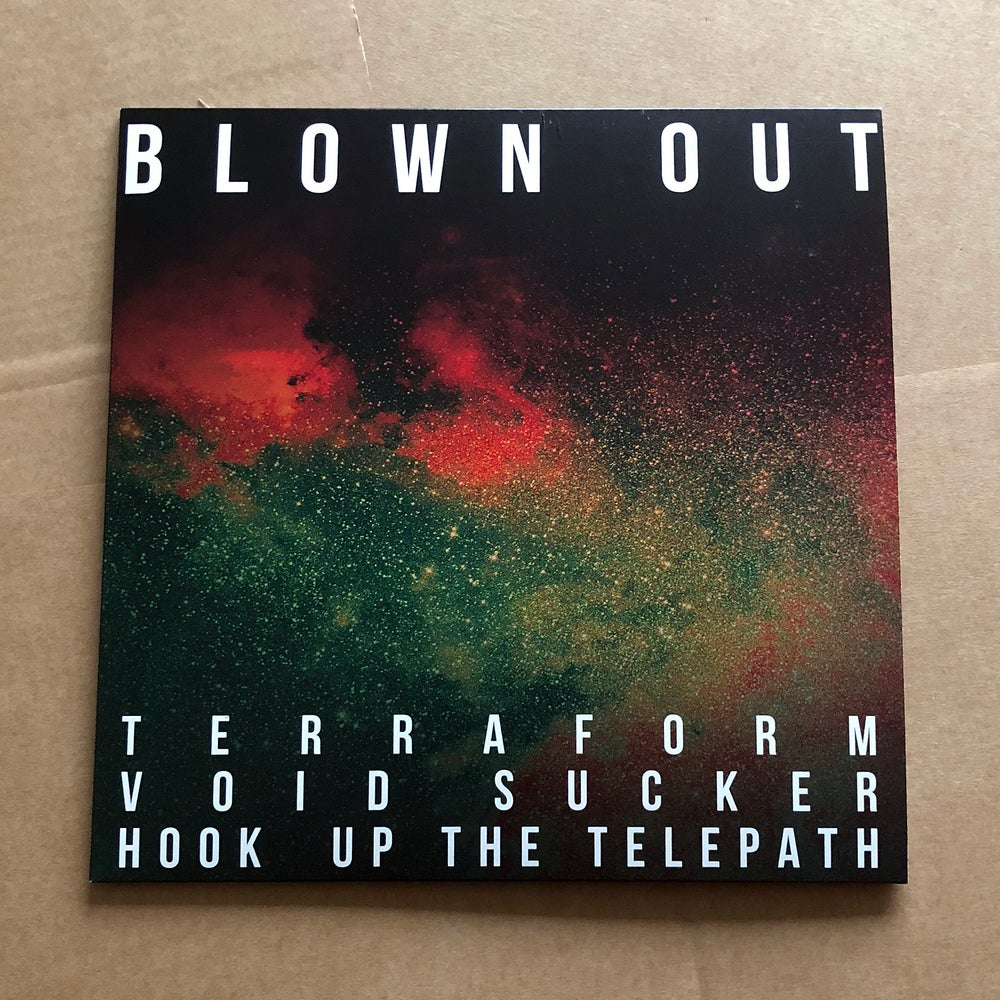 BLOWN OUT / COMACOZER  'In Search Of Highs Volume 1' Green Vinyl LP
