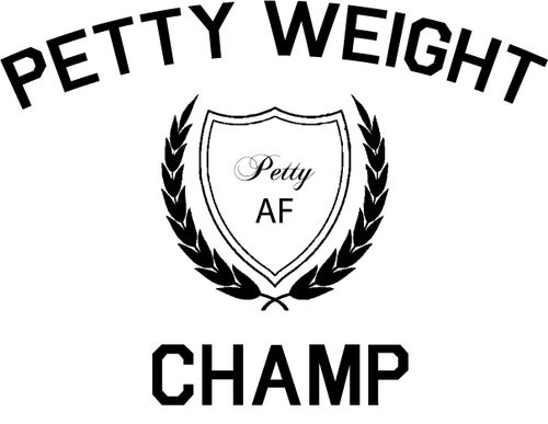 Image of Petty Weight Champ muscle tank