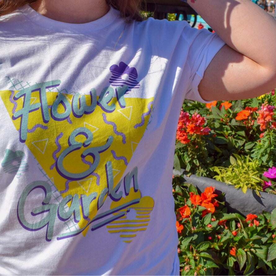 Image of 90s Flower and Garden Tee