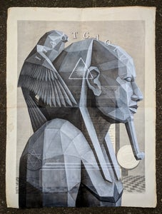 Image of 'Architects' original painting