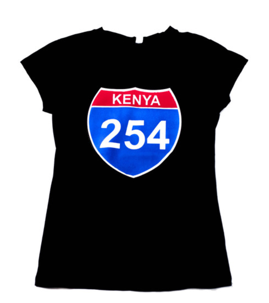 Image of Black female 254 skills tshirt