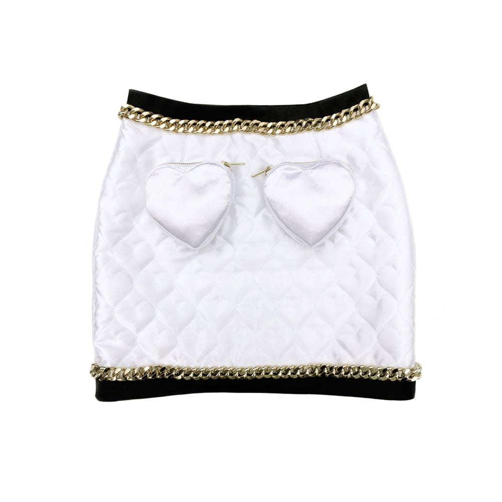 Image of SWEETHEART SUIT MINI SKIRT