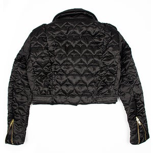 Image of SWEETHEART BIKER JACKET