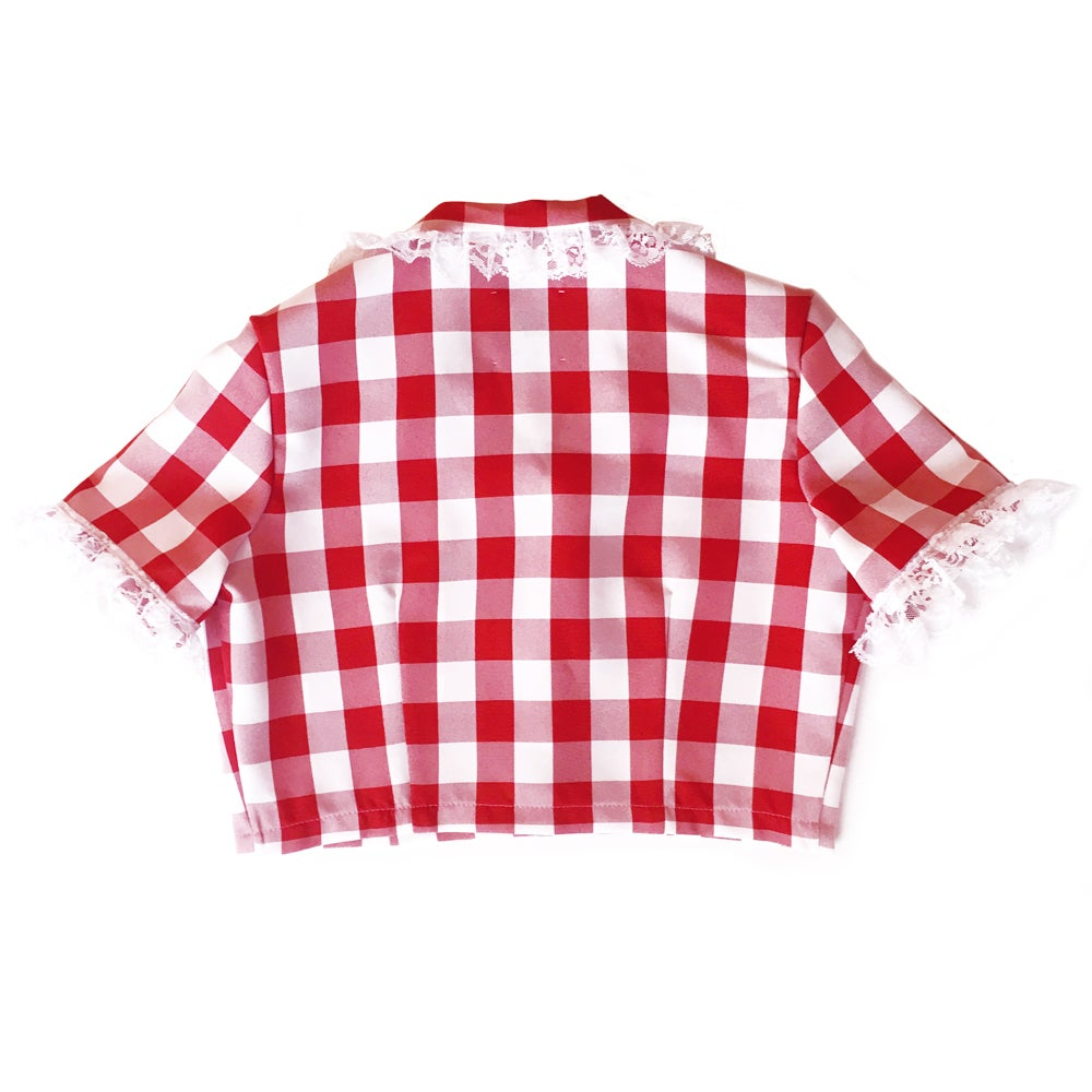 THE BOW SHIRT (CHERRY)