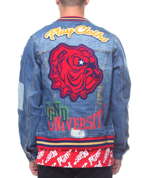 Image of CU VARSITY JEAN JACKET