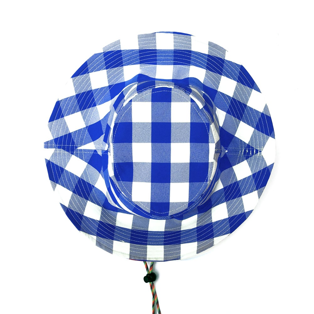 THE BETTIE BUCKET HAT (BLUEBERRY)