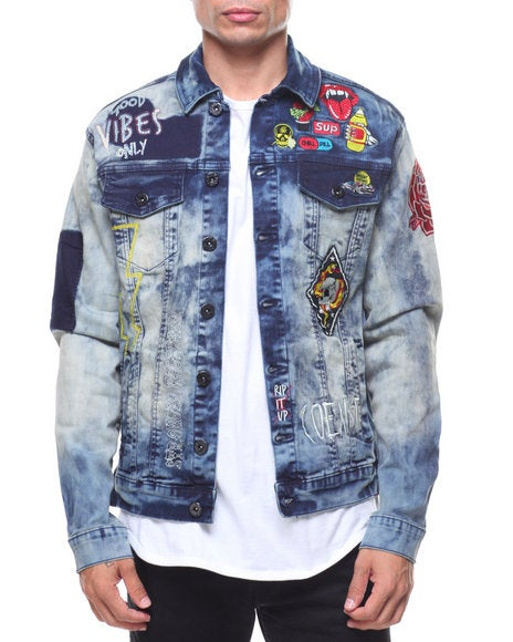 Image of PATCHWORK DENIM JACKET