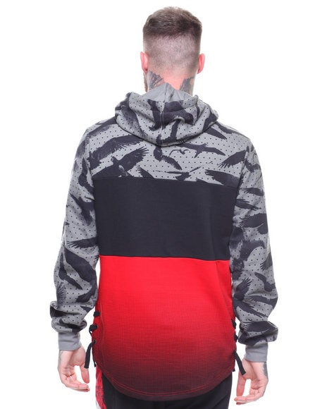 Image of CAMO COLOR BLOCKED PULLOVER