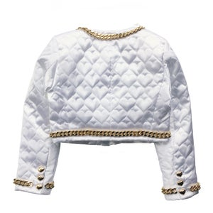 Image of SWEETHEART CHAIN SUIT JACKET