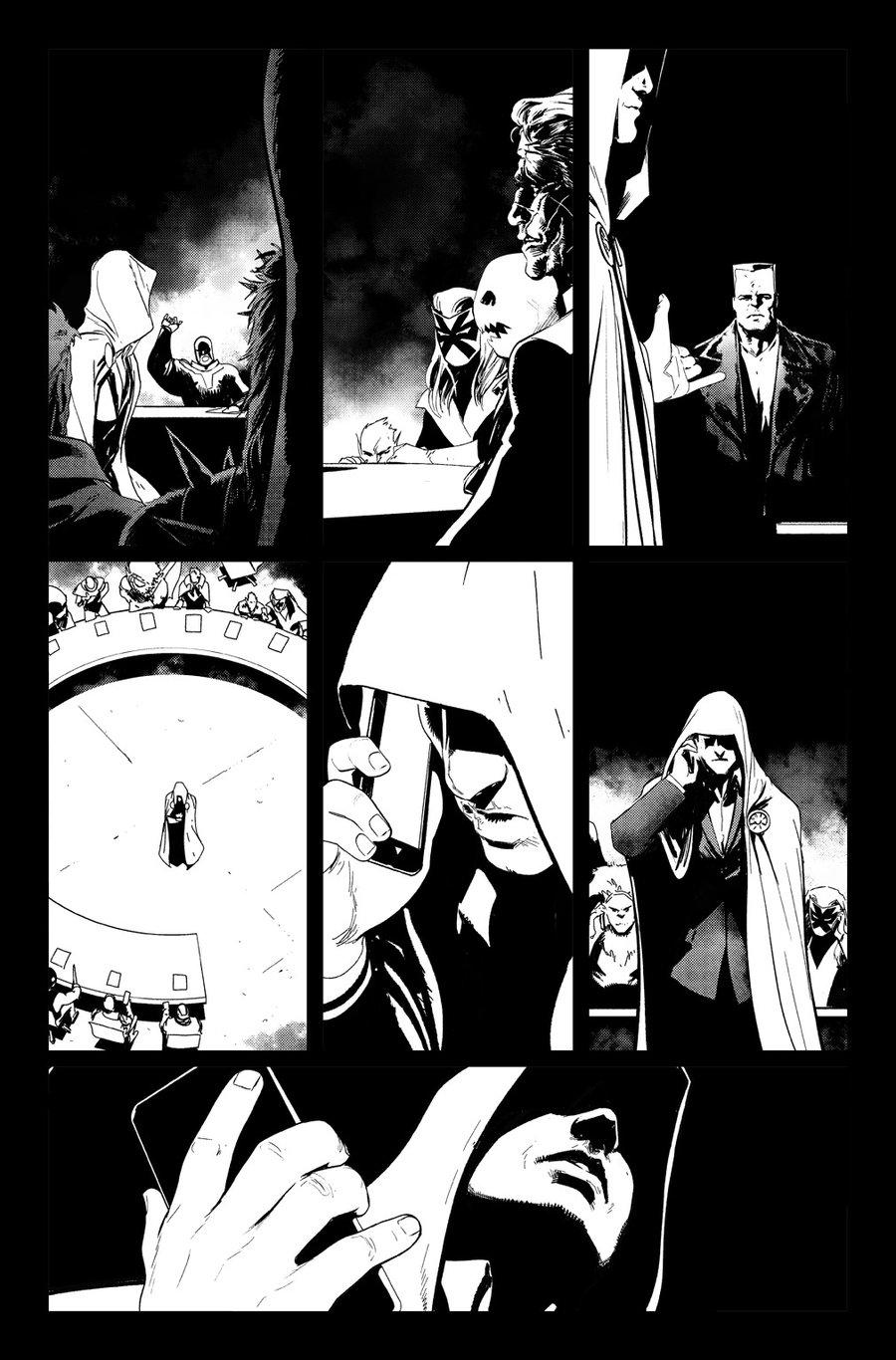 Image of DEFENDERS #10, p.19 ARTIST'S PROOF