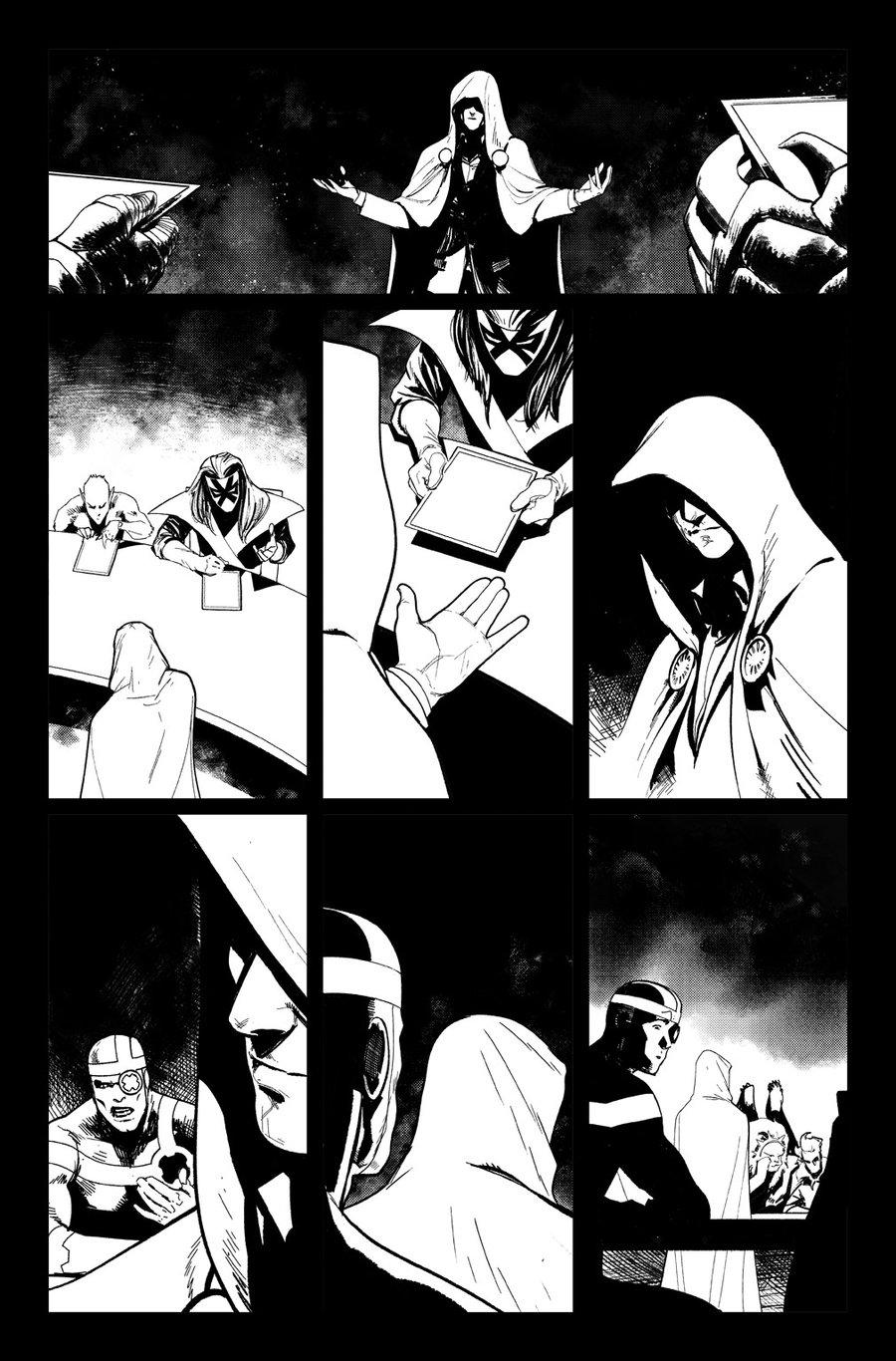 Image of DEFENDERS #10, p.18 ARTIST'S PROOF