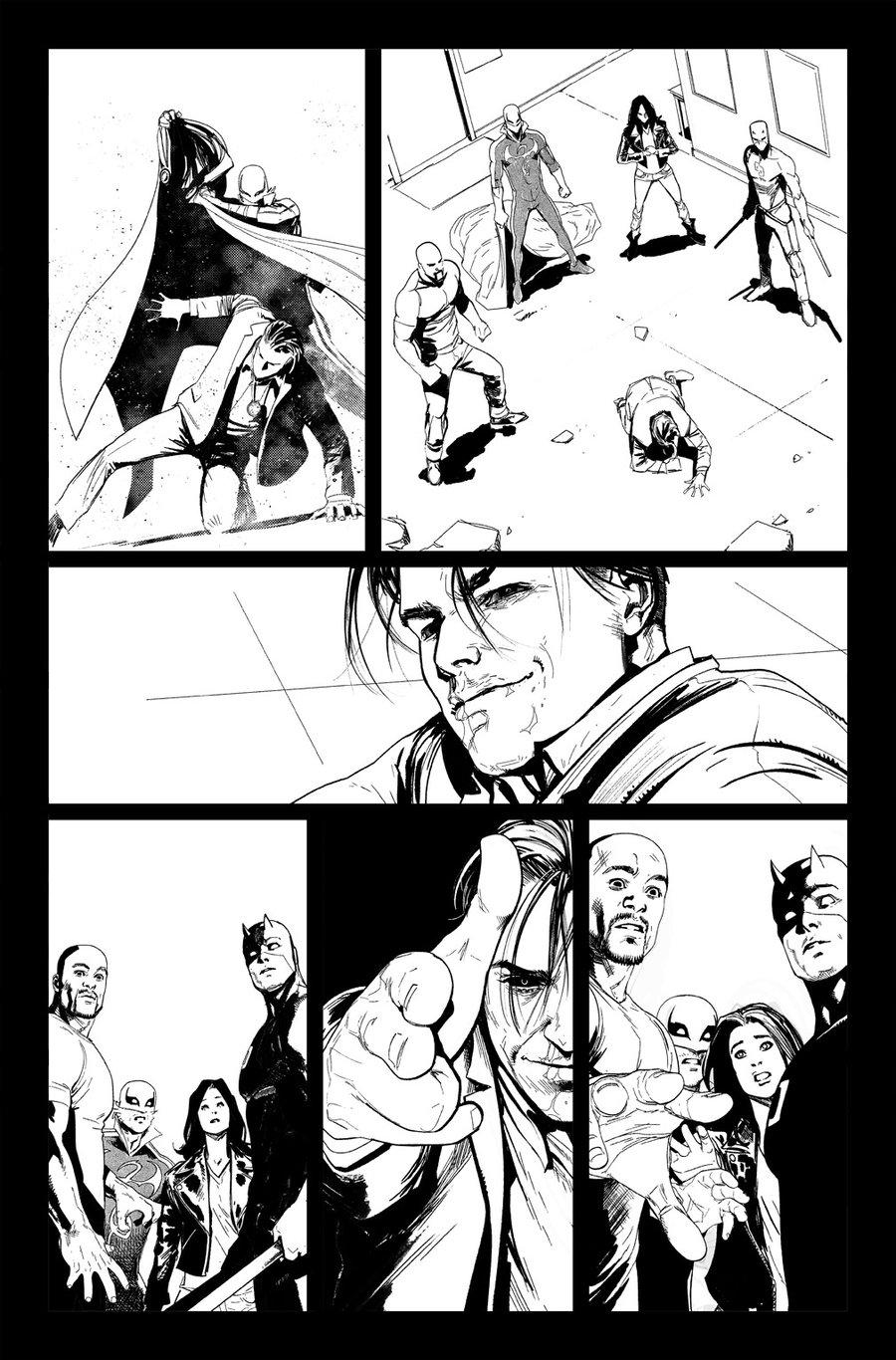 Image of DEFENDERS #10, p.15 ARTIST'S PROOF