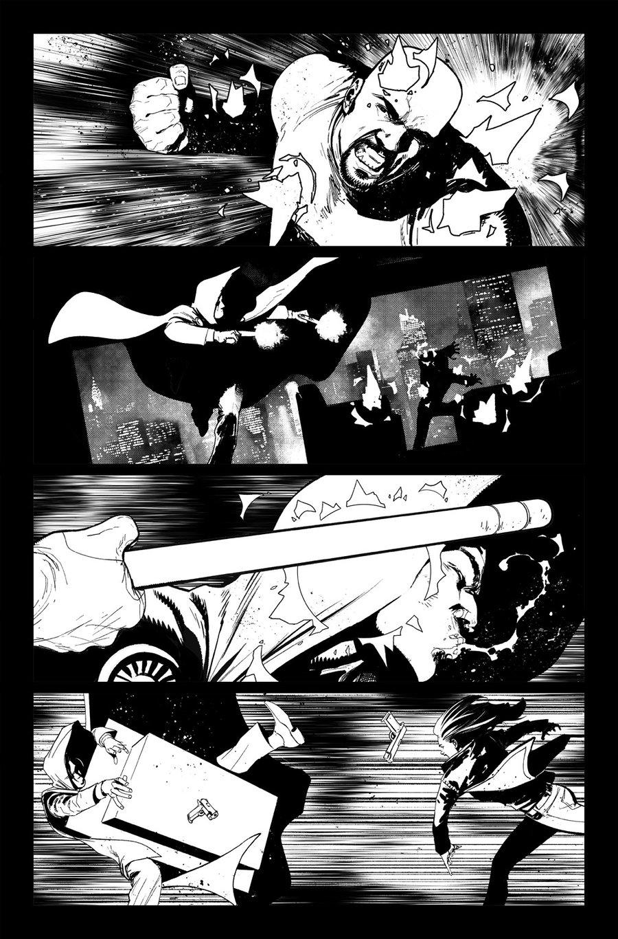 Image of DEFENDERS #10, p.14 ARTIST'S PROOF