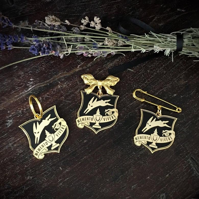 Image of Memento Vivere Amulet