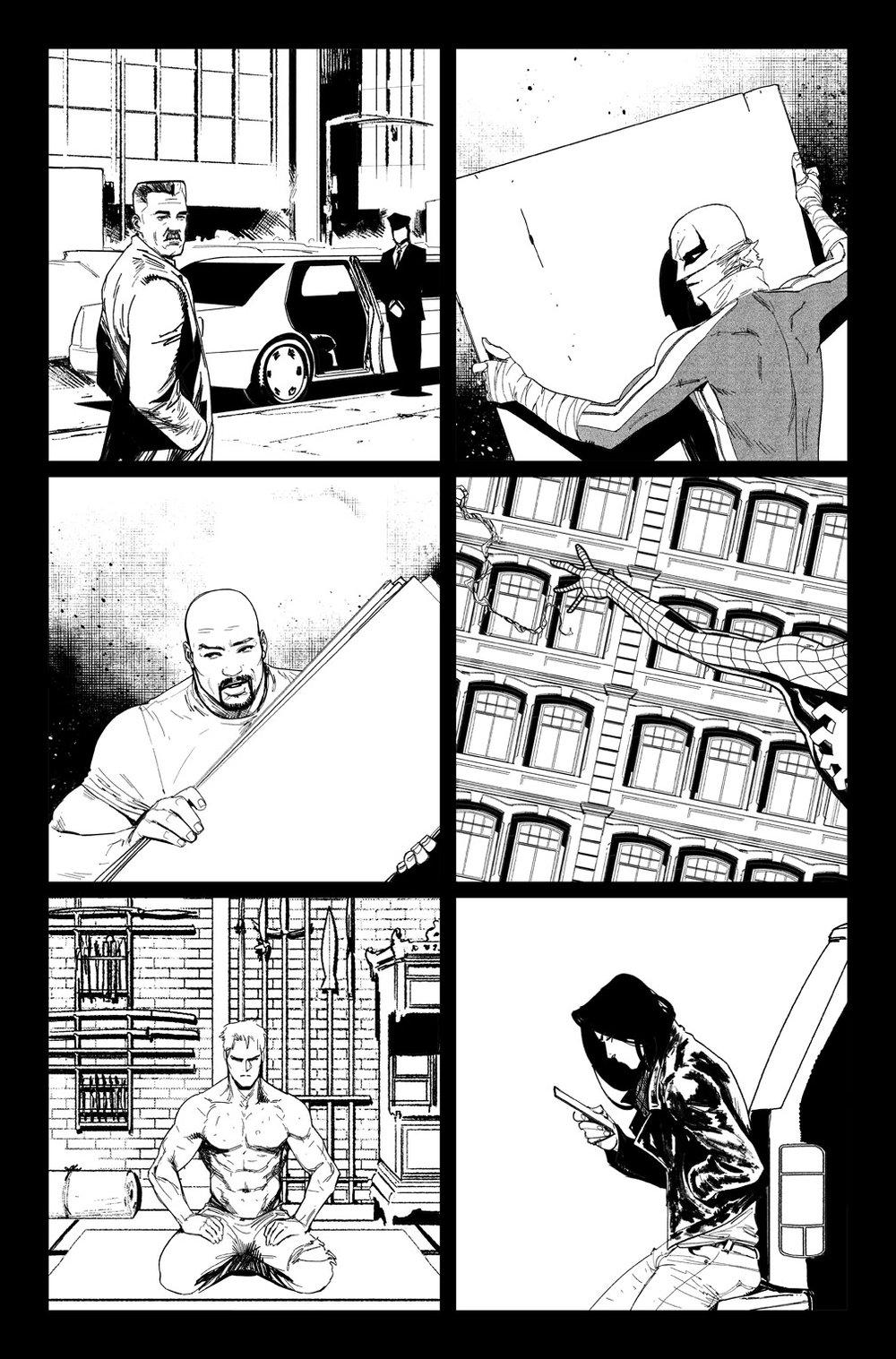 Image of DEFENDERS #10, p.06 ARTIST'S PROOF