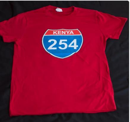 Image of Red female 254 skills t-shirt