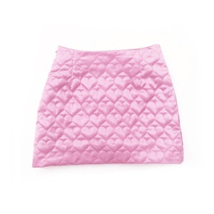 Image of SWEETHEART MINI SKIRT (BABY PINK)