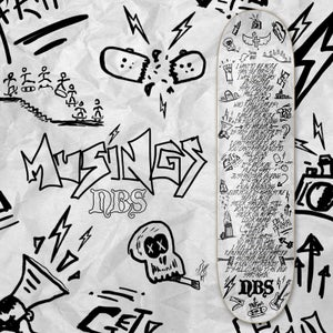 "Image of NEW! ""MUSINGS"" Team Pro Model Skateboard"
