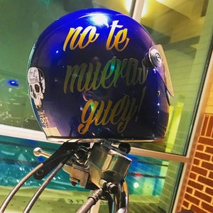 Image of No Te Mueras Guey! Tank sticker