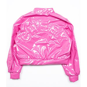 Image of BUBBLEGUM BABY BOMBER JACKET