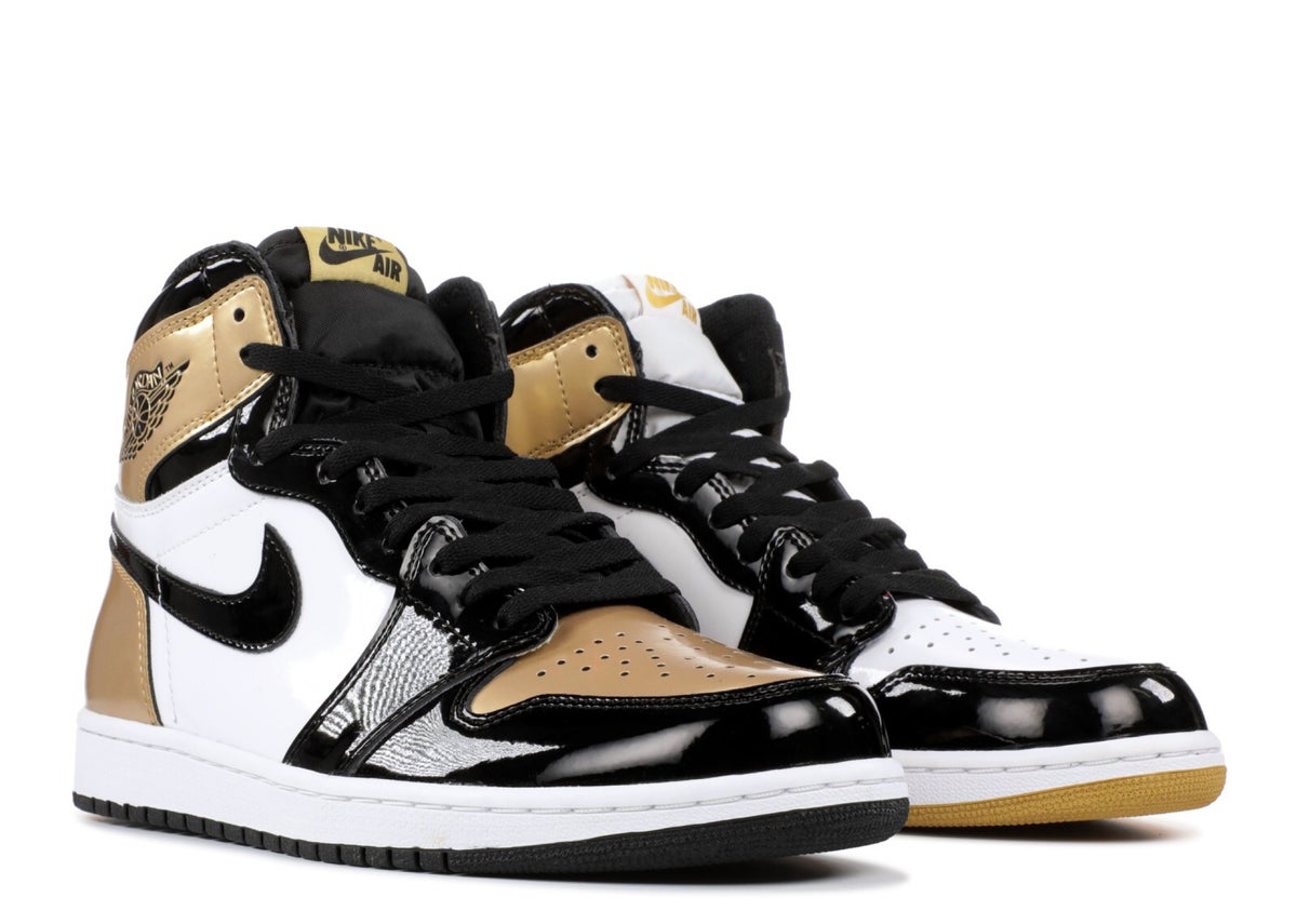 "Image of AIR JORDAN 1 RETRO HIGH OG NRG ""GOLD TOP 3"""